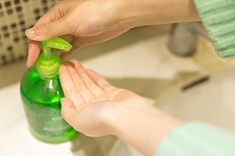 Healthy Work Environment Hand Washing