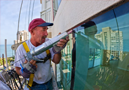 caulking glazing