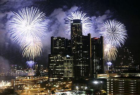 Detroit July 4th