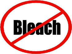 no bleach