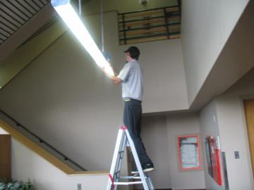 replacing incandescent bulb