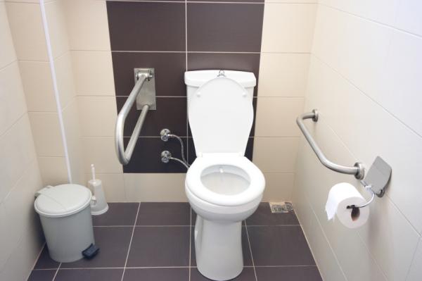 restroom tiles design. men women restroom decal bathroom sign