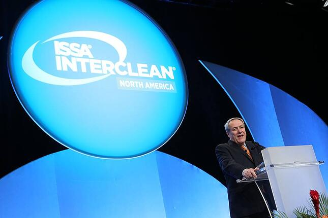 John Garfinkel, issa/interclean trade show, convention, stathakis, michigan janitorial