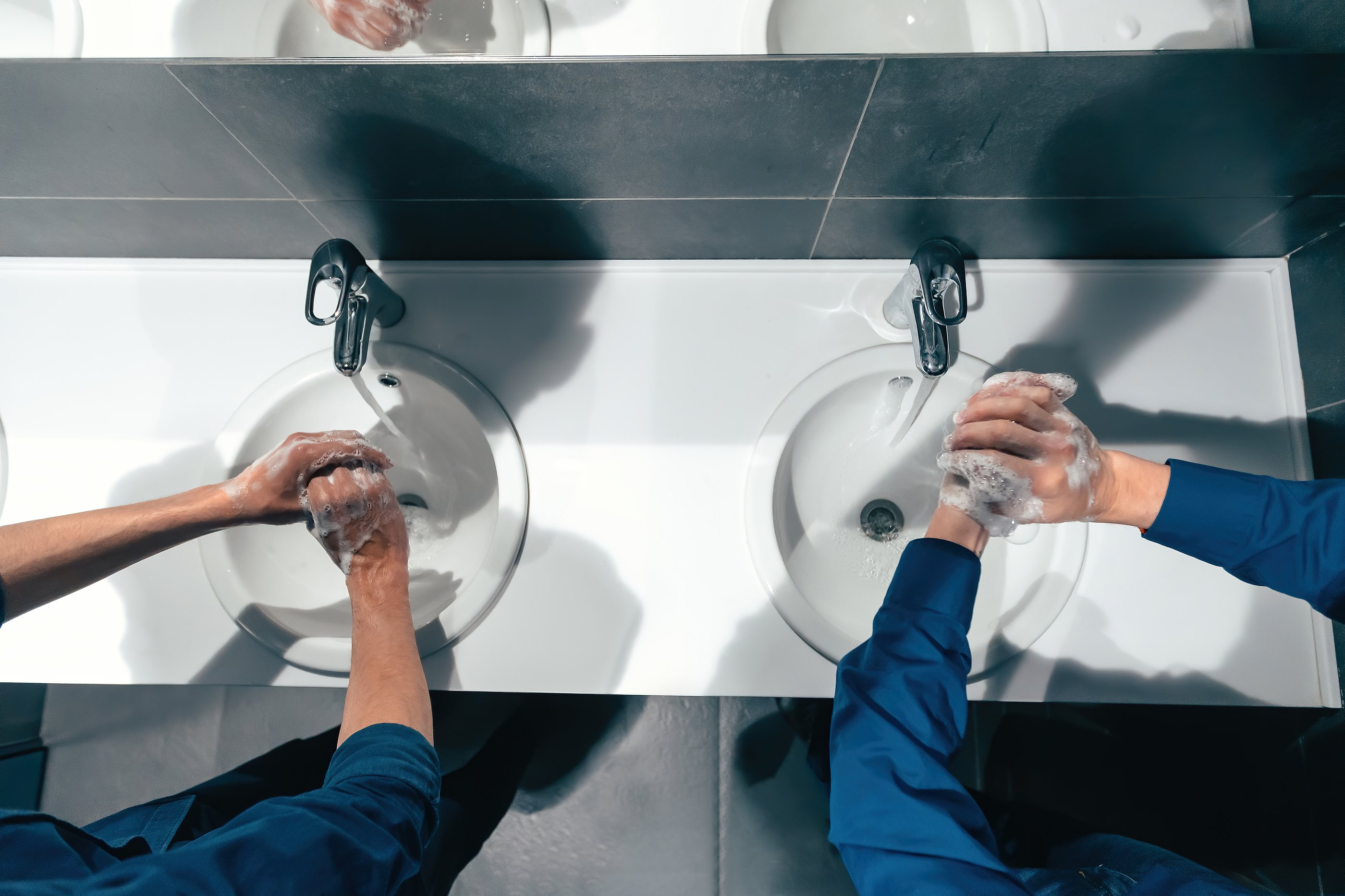 restroom disinfection, restroom cleaning