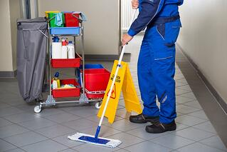 day cleaning, daytime cleaning services, day porter, detroit janitorial companies