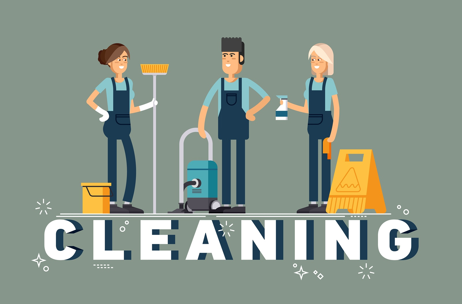 Is Your Commercial Office Cleaning Company Using Team Cleaning?
