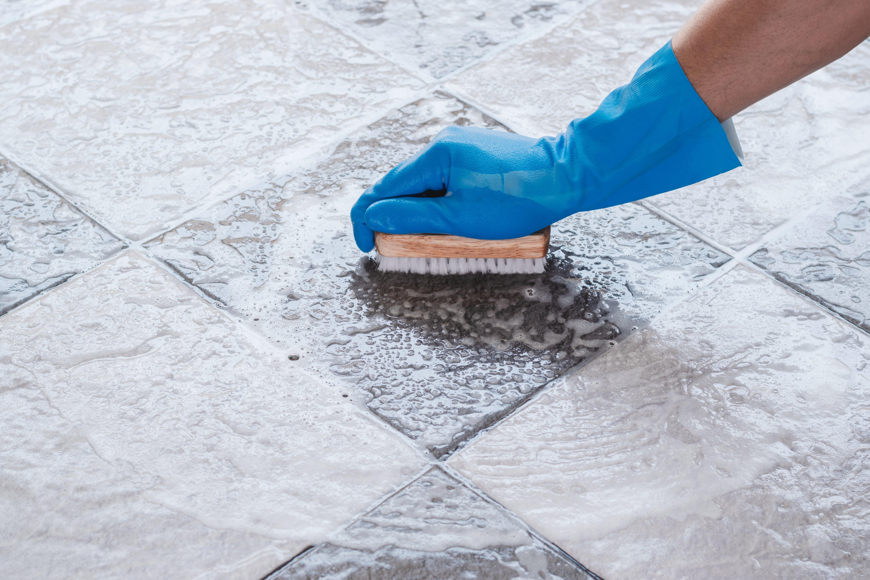 Deep Clean Professional Scrubbing Tile