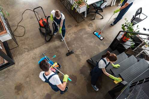bigstock-Top-View-Of-Cleaning-Company-T-356765534