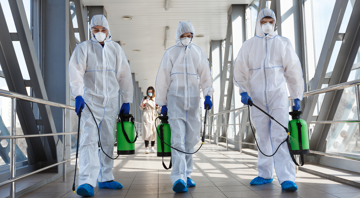 Commercial Disinfecting Services to the Rescue