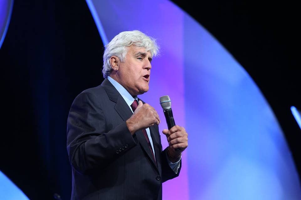 jay leno, issa/interclean, las vegas convention center, stathakis, ceo chris stathakis