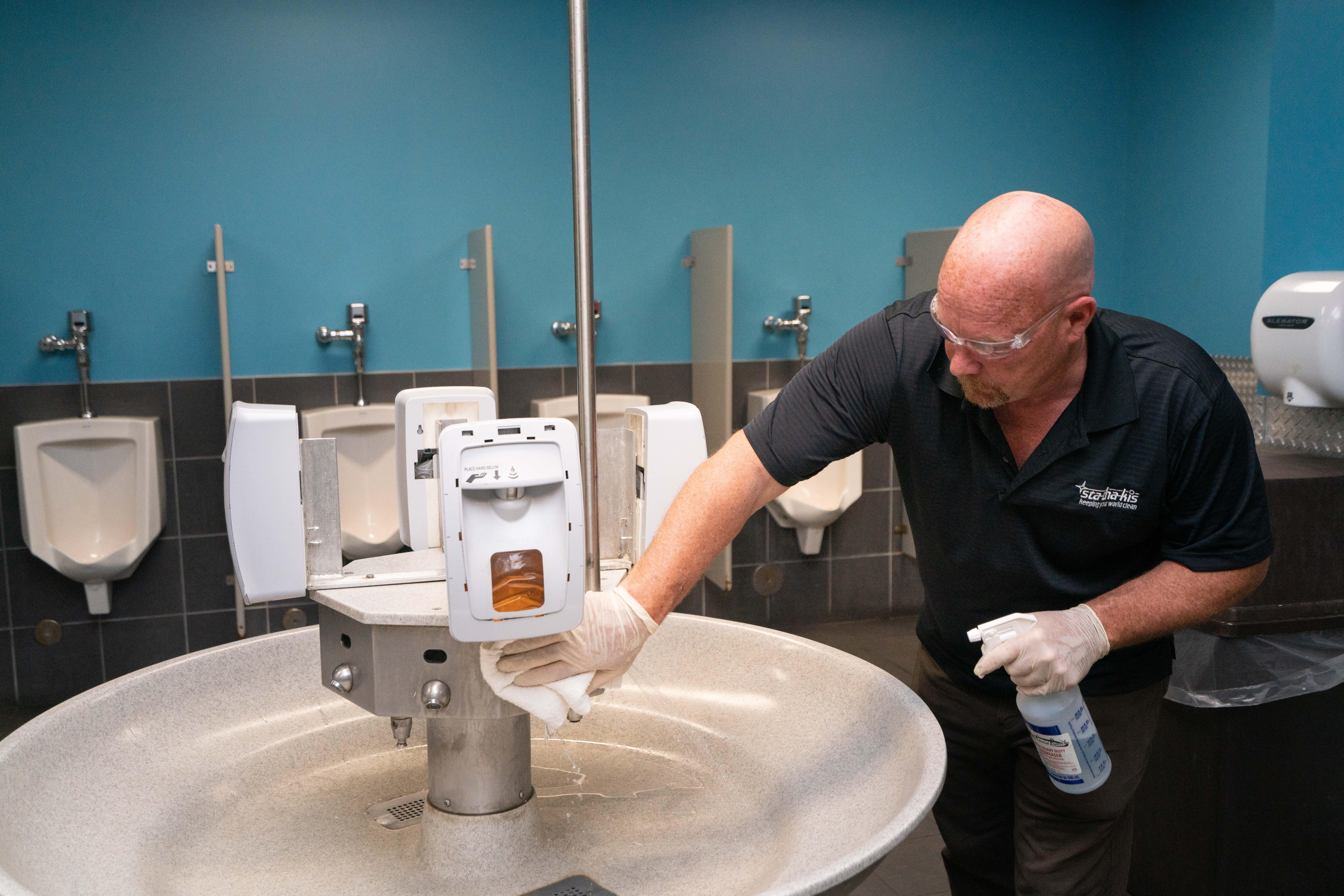 Restroom Disinfecting