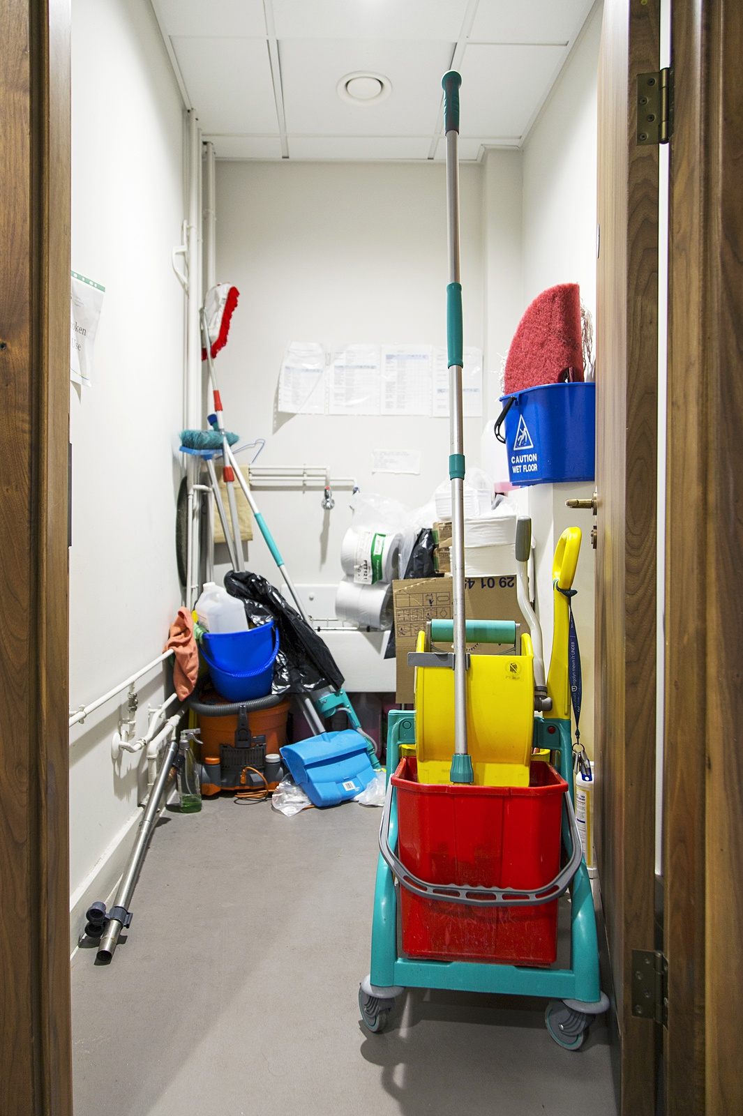 Is Your Janitorial Company S Closet Sending The Wrong Message