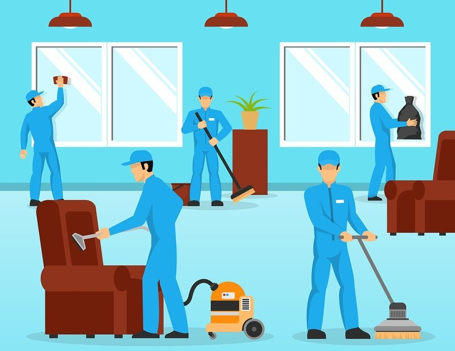 Janitorial Services 101 Zone Cleaning Versus Team Cleaning